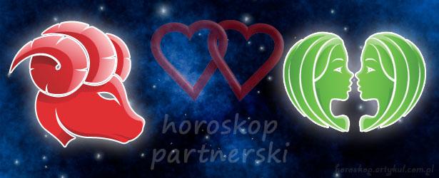 horoskop partnerski Baran Bliźnięta