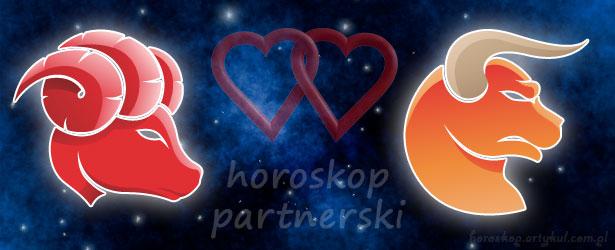 horoskop partnerski Baran Byk