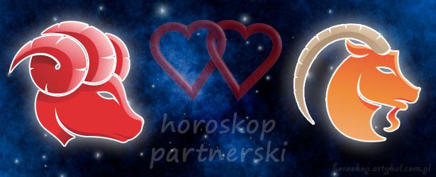 horoskop partnerski Baran Koziorożec