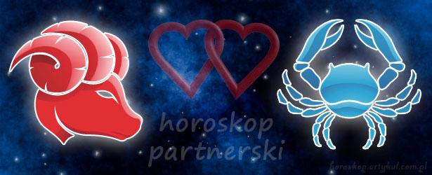 horoskop partnerski Baran Rak