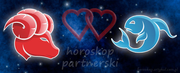 horoskop partnerski Baran Ryby