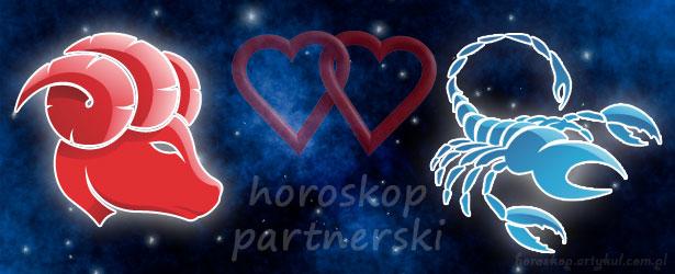 horoskop partnerski Baran Skorpion