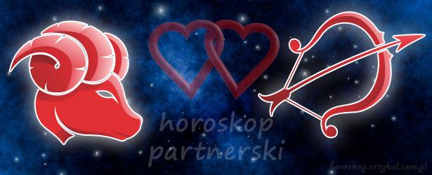 horoskop partnerski Baran Strzelec