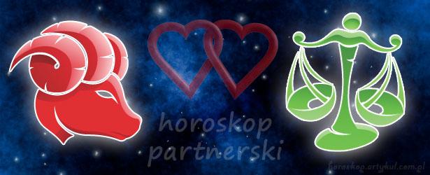 horoskop partnerski Baran Waga