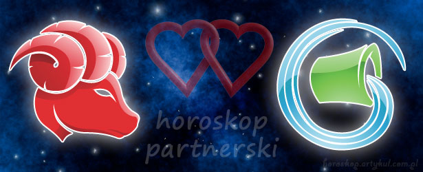 horoskop partnerski Baran Wodnik