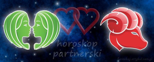 horoskop partnerski Bliźnięta Baran