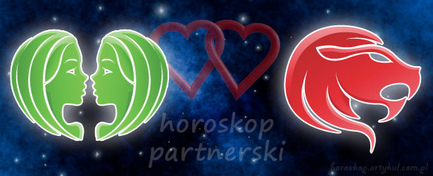 horoskop partnerski Bliźnięta Lew