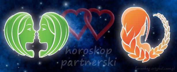 horoskop partnerski Bliźnięta Panna