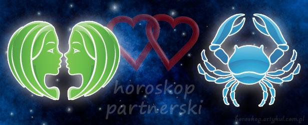 horoskop partnerski Bliźnięta Rak