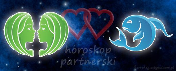 horoskop partnerski Bliźnięta Ryby