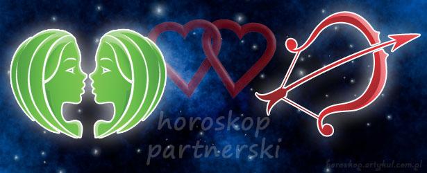 horoskop partnerski Bliźnięta Strzelec