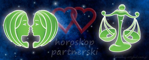 horoskop partnerski Bliźnięta Waga