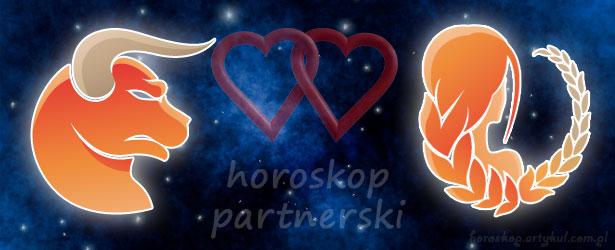 horoskop partnerski Byk Panna