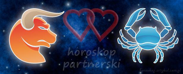horoskop partnerski Byk Rak