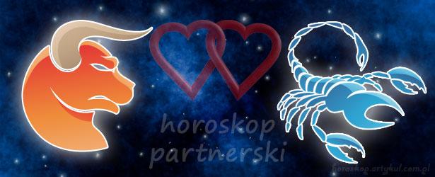 horoskop partnerski Byk Skorpion