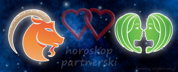 horoskop partnerski Koziorożec Bliźnięta