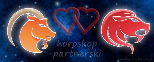 horoskop partnerski Koziorożec Lew
