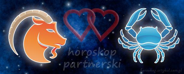 horoskop partnerski Koziorożec Rak