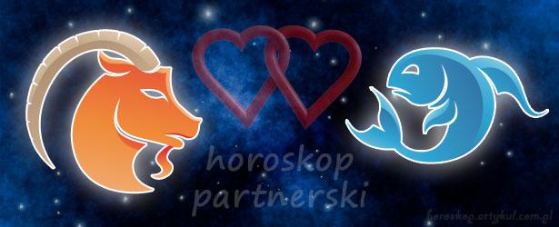 horoskop partnerski Koziorożec Ryby