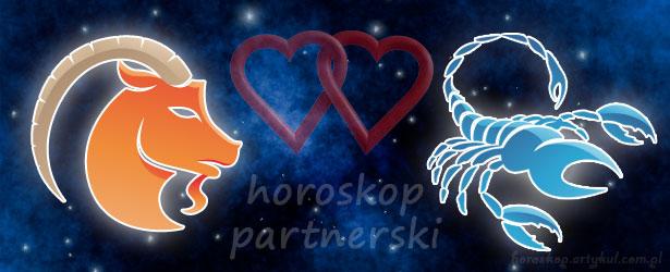 horoskop partnerski Koziorożec Skorpion