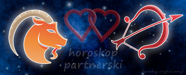 horoskop partnerski Koziorożec Strzelec
