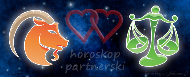 horoskop partnerski Koziorożec Waga