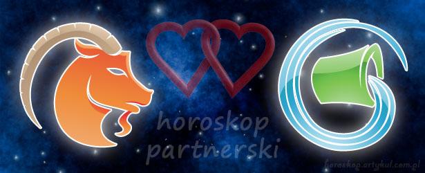 horoskop partnerski Koziorożec Wodnik