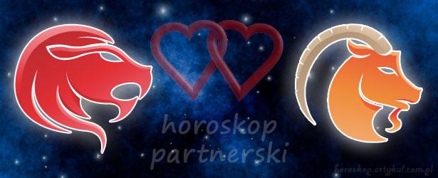 horoskop partnerski Lew Koziorożec