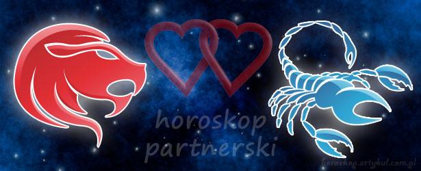 horoskop partnerski Lew Skorpion