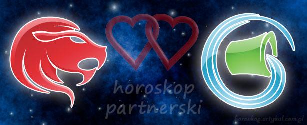 horoskop partnerski Lew Wodnik