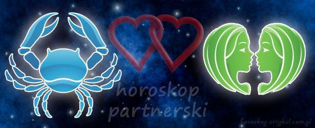horoskop partnerski Rak Bliźnięta