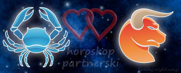 horoskop partnerski Rak Byk