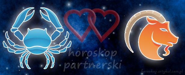 horoskop partnerski Rak Koziorożec