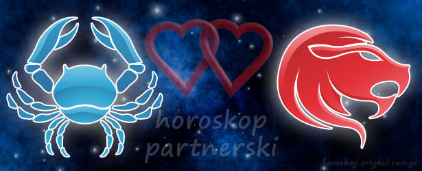 horoskop partnerski Rak Lew