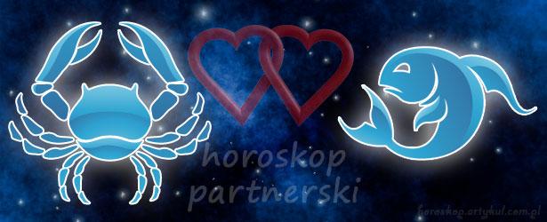 horoskop partnerski Rak Ryby