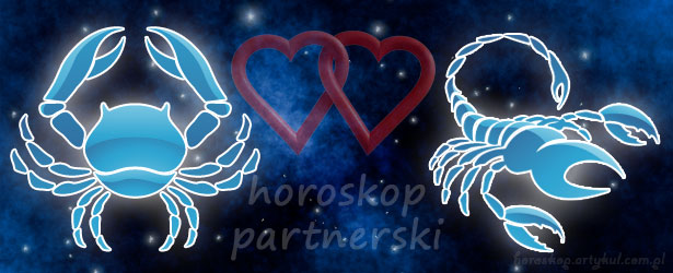 horoskop partnerski Rak Skorpion
