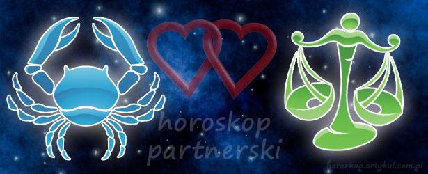 horoskop partnerski Rak Waga
