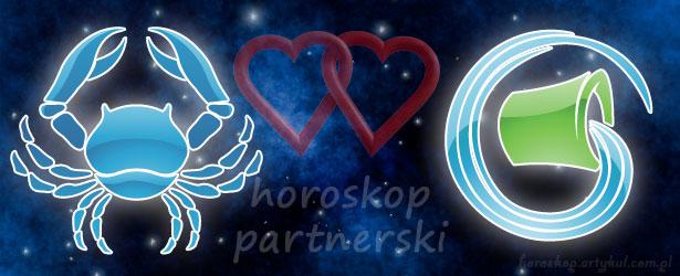 horoskop partnerski Rak Wodnik