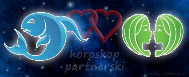 horoskop partnerski Ryby Bliźnięta