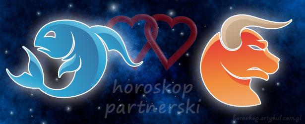 horoskop partnerski Ryby Byk