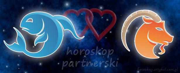 horoskop partnerski Ryby Koziorożec