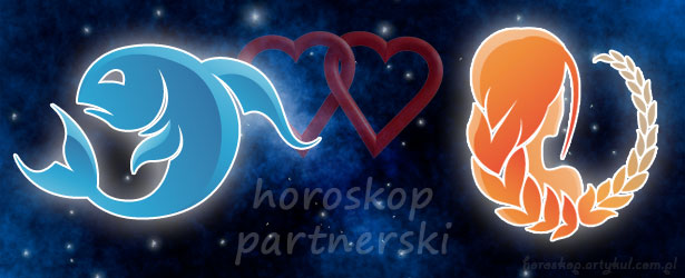 horoskop partnerski Ryby Panna