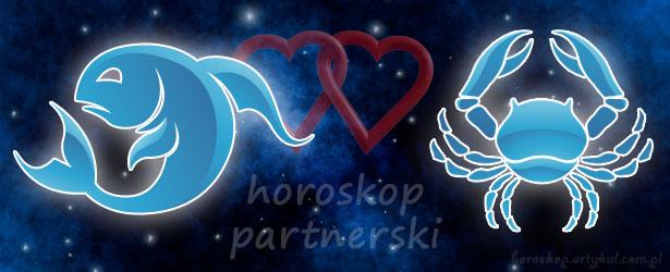 horoskop partnerski Ryby Rak