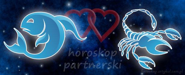 horoskop partnerski Ryby Skorpion