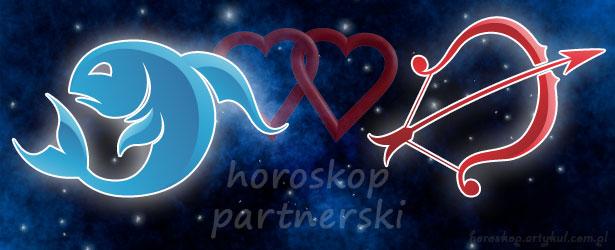horoskop partnerski Ryby Strzelec