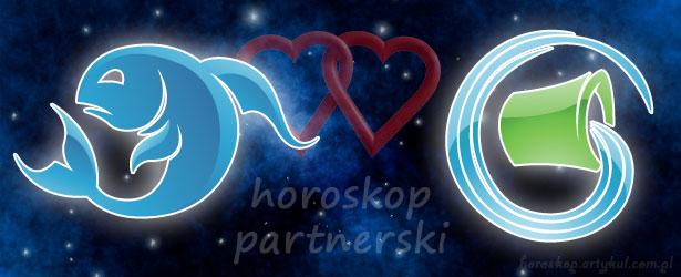 horoskop partnerski Ryby Wodnik