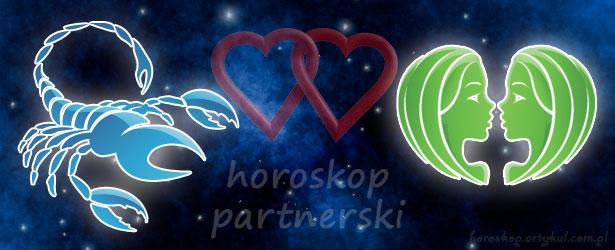 horoskop partnerski Skorpion Bliźnięta