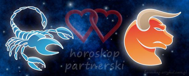 horoskop partnerski Skorpion Byk