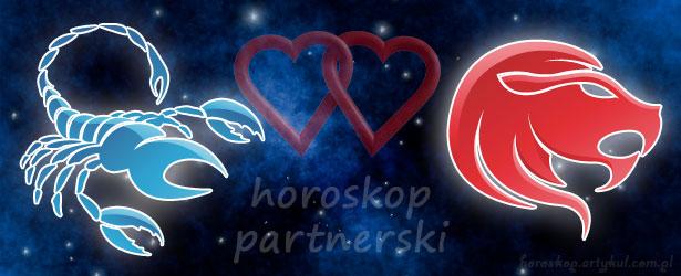 horoskop partnerski Skorpion Lew
