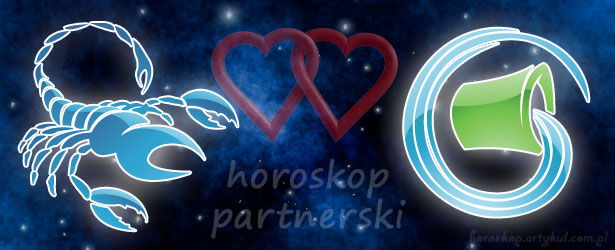 horoskop partnerski Skorpion Wodnik